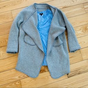 Grey Waterfall Grey Cardigan Jacket
